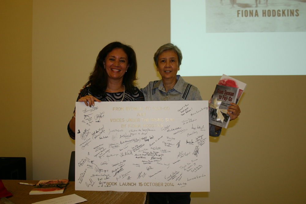 Fiona Hodgkins (Author) and Therese Thompson (Team Bahau)