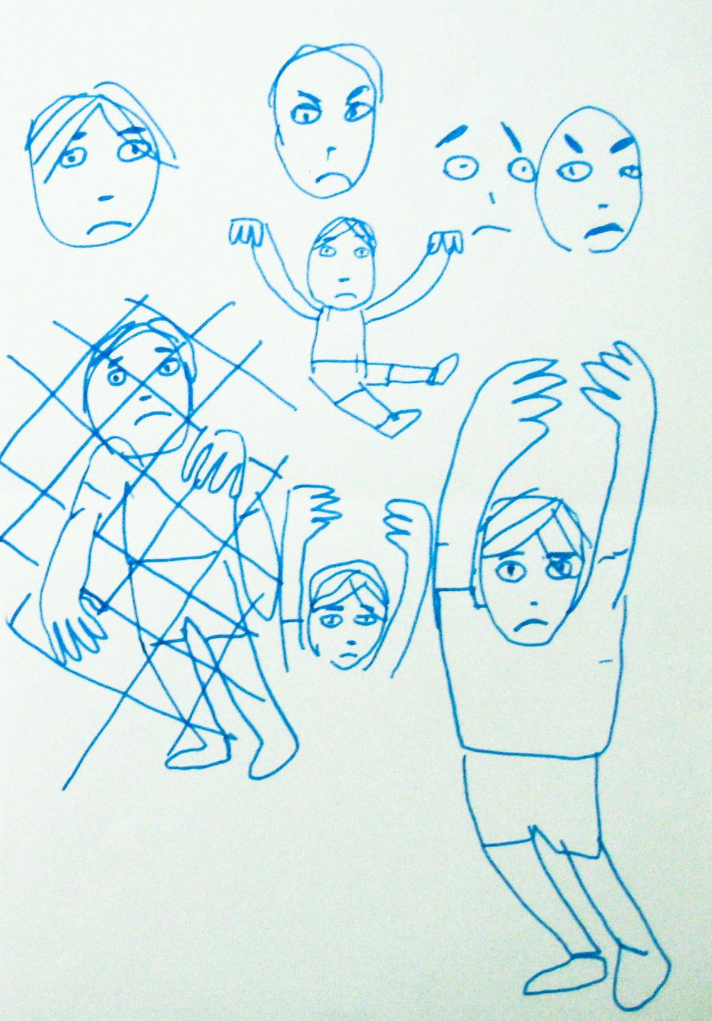 bocetos_niño_en_zoo