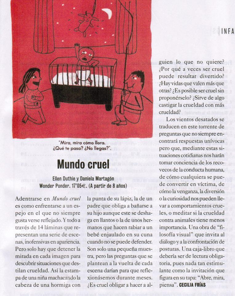 Reseña aparecida el 13.02.2015 en El Cultural, del diarioEl Mundo.