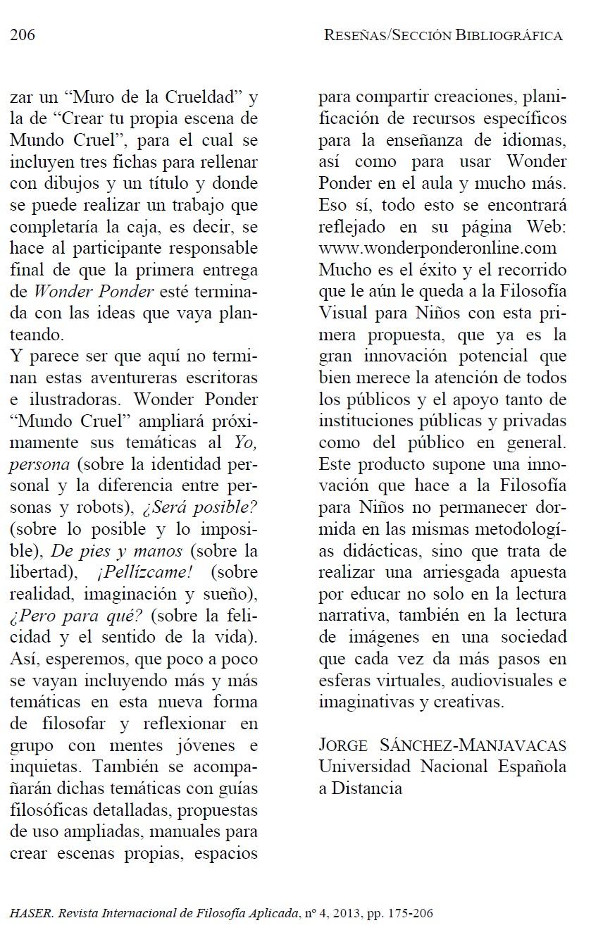 HASER reseña Mundo cruel, pág. 3