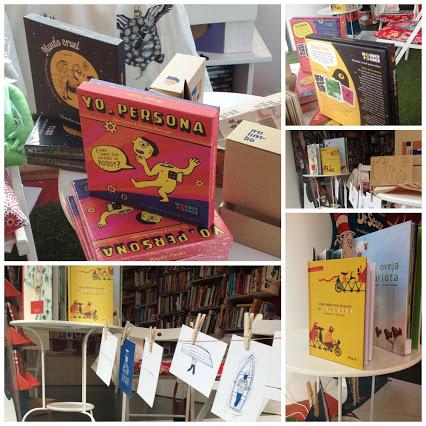 Los títulos de Wonder Ponder, en la librería El Lobo Feroz, de Valladolid
