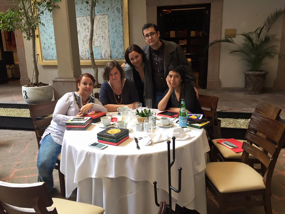 María Outón, Ellen Duthie, Cecilia Fernandez de Mendoza, Gerardo Cantú y Daniela Martagón