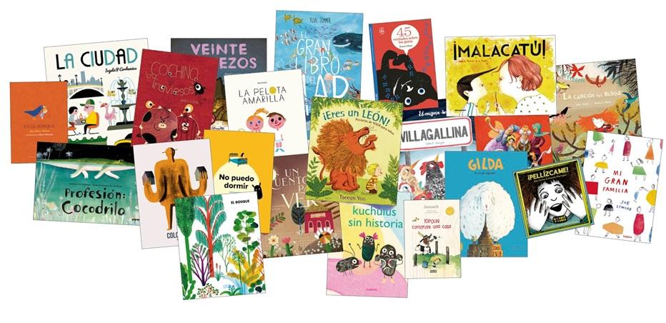 Algunas de las novedades para la Feria del Libro de Madrid de las editoriales que conforman la asociación ¡ÁLBUM!.