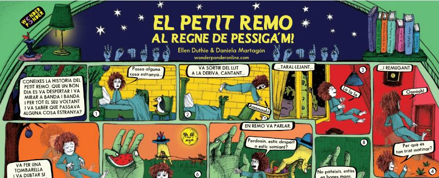 fragment del póster de Pessiga'm!