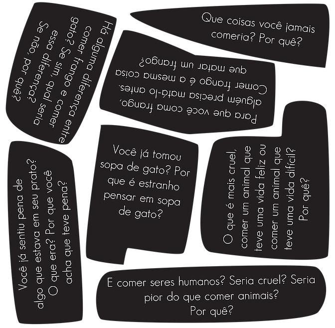 Imágen de una de las páginas de  Mundo cruel , en la versión brasileña de Boitempo