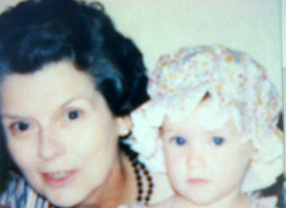 """Ellen con su abuela Dorothy, a la que llamaba """"Oma""""."""