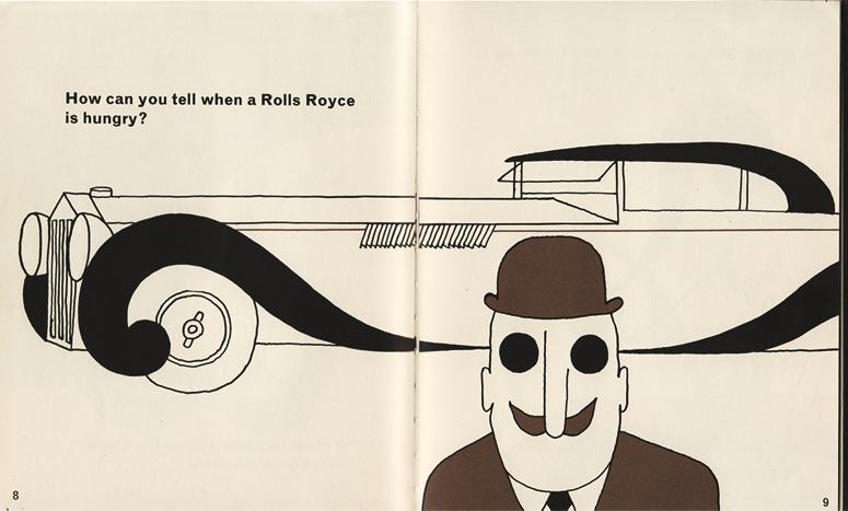 ¿Cómo sabes cuando un Rolls Royce tiene hambre?