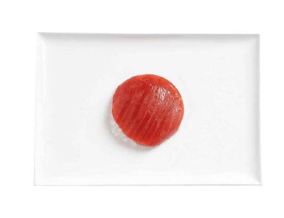 sushi bandera de japon