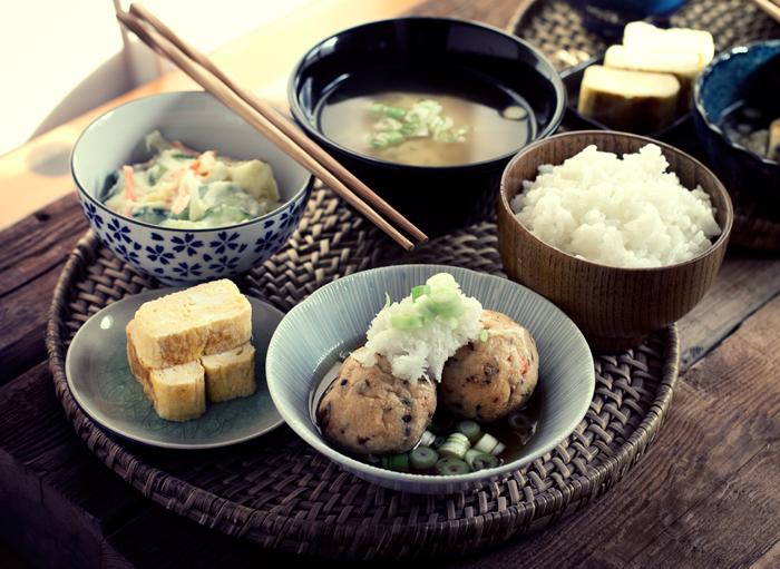 menú set japonés