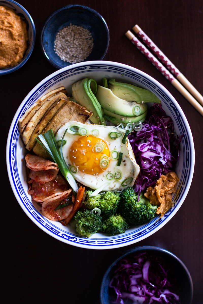 korean veggie bowl