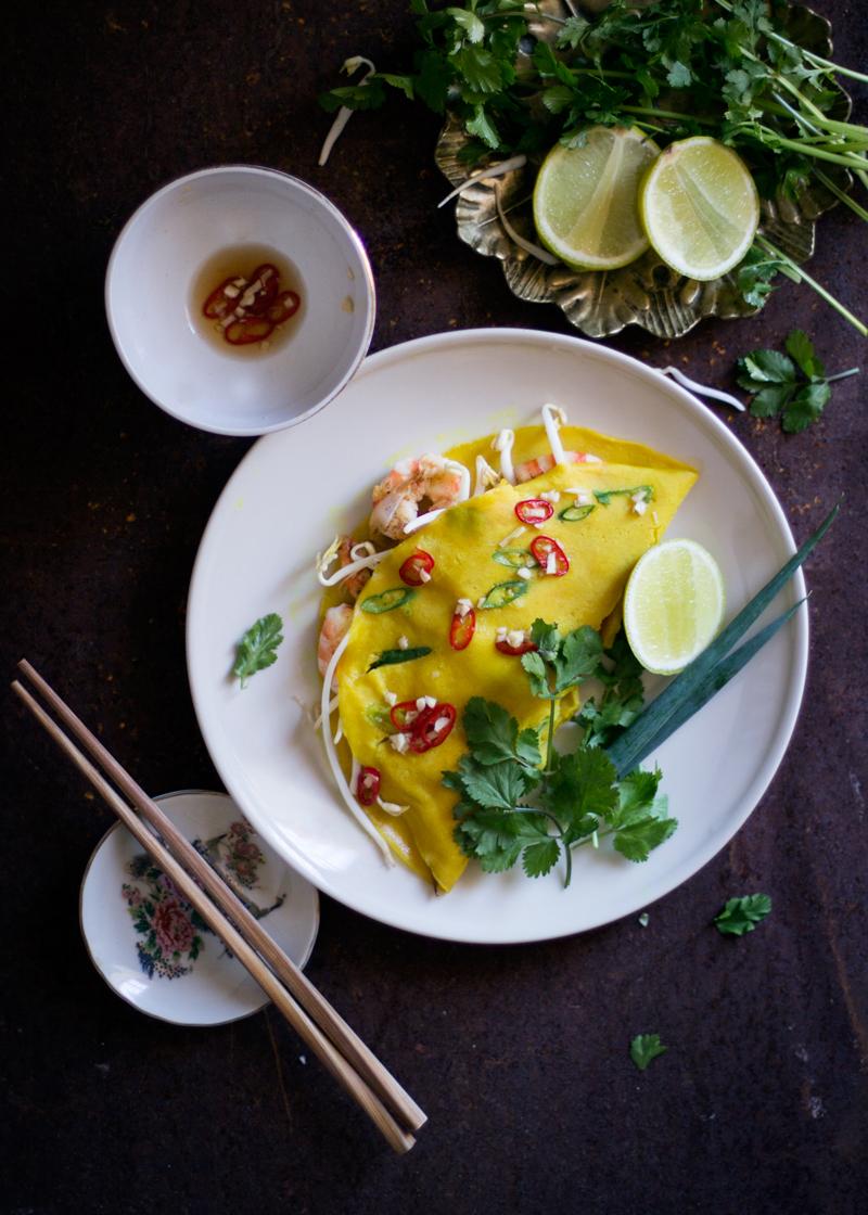 crepe vietnamita. banh xeo