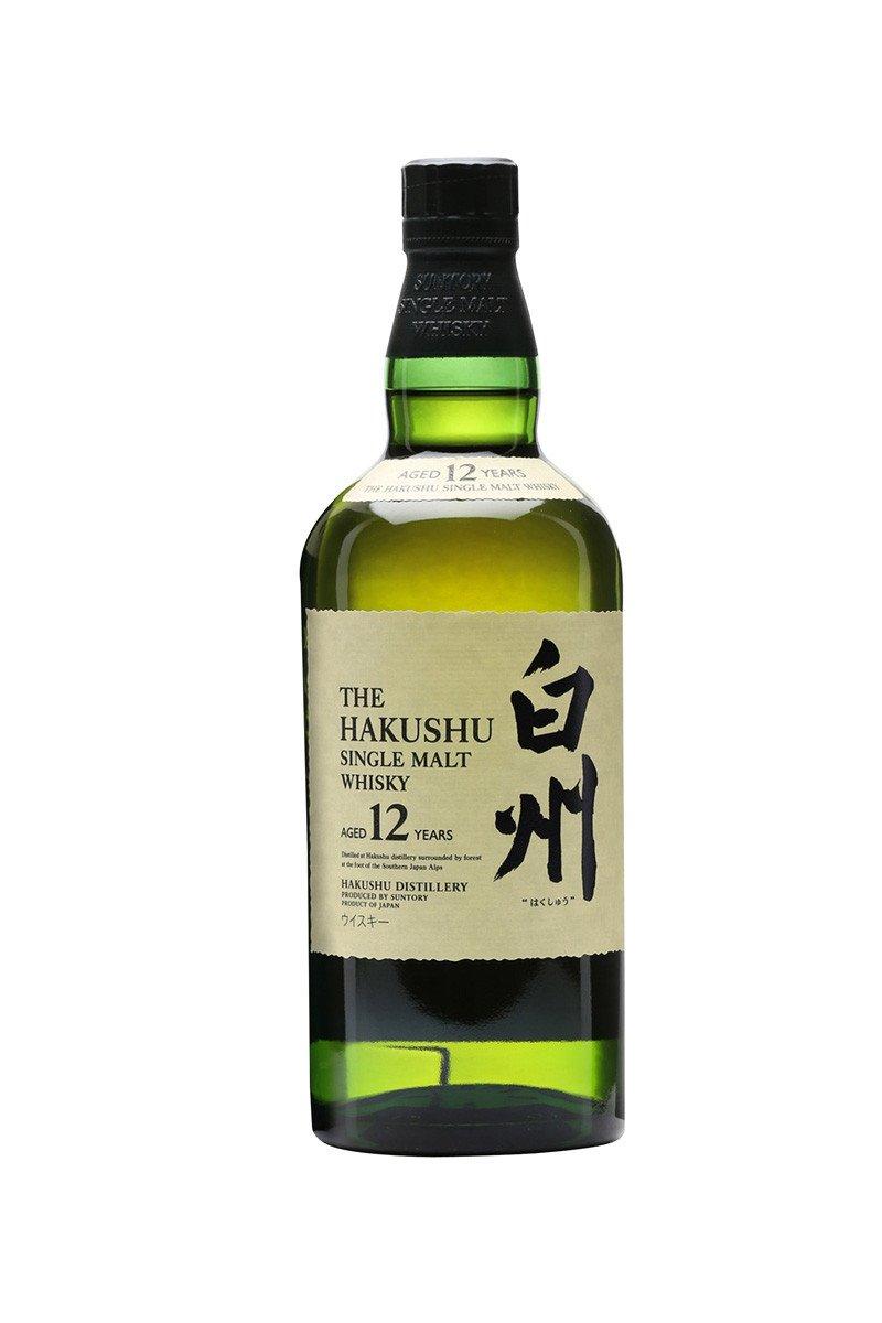 Hakushu whisky japonés