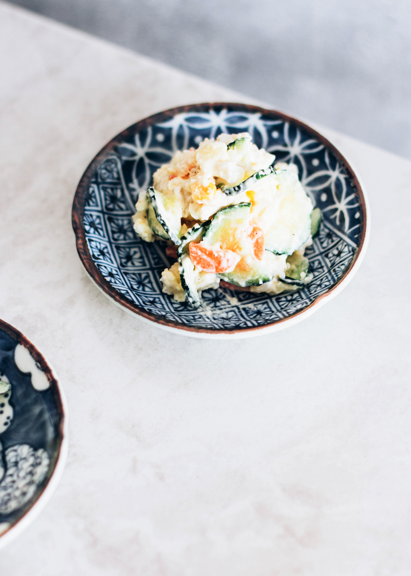 ensalada de patata japonesa
