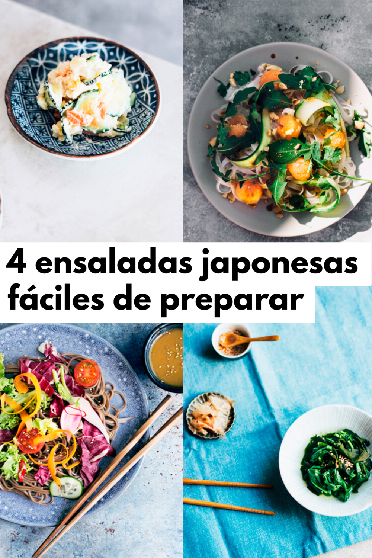 recetas ensaladas japonesas fáciles