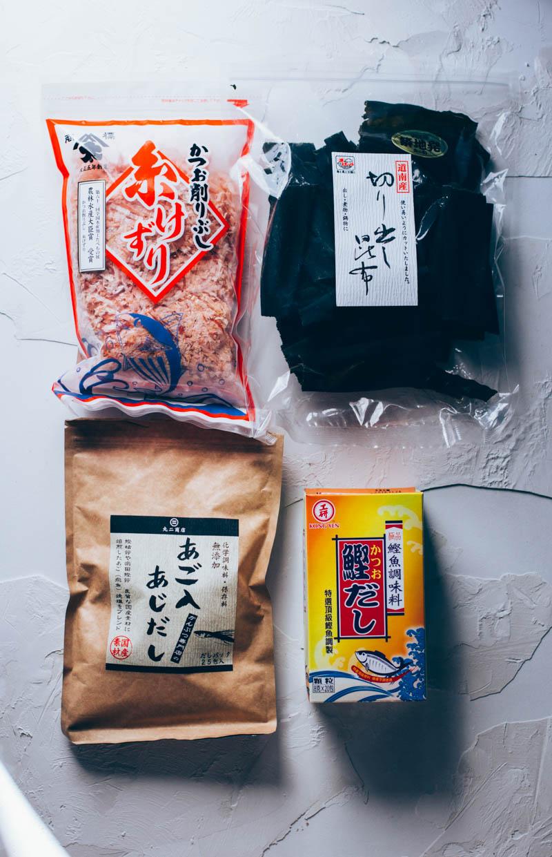 3 formas de preparar dashi