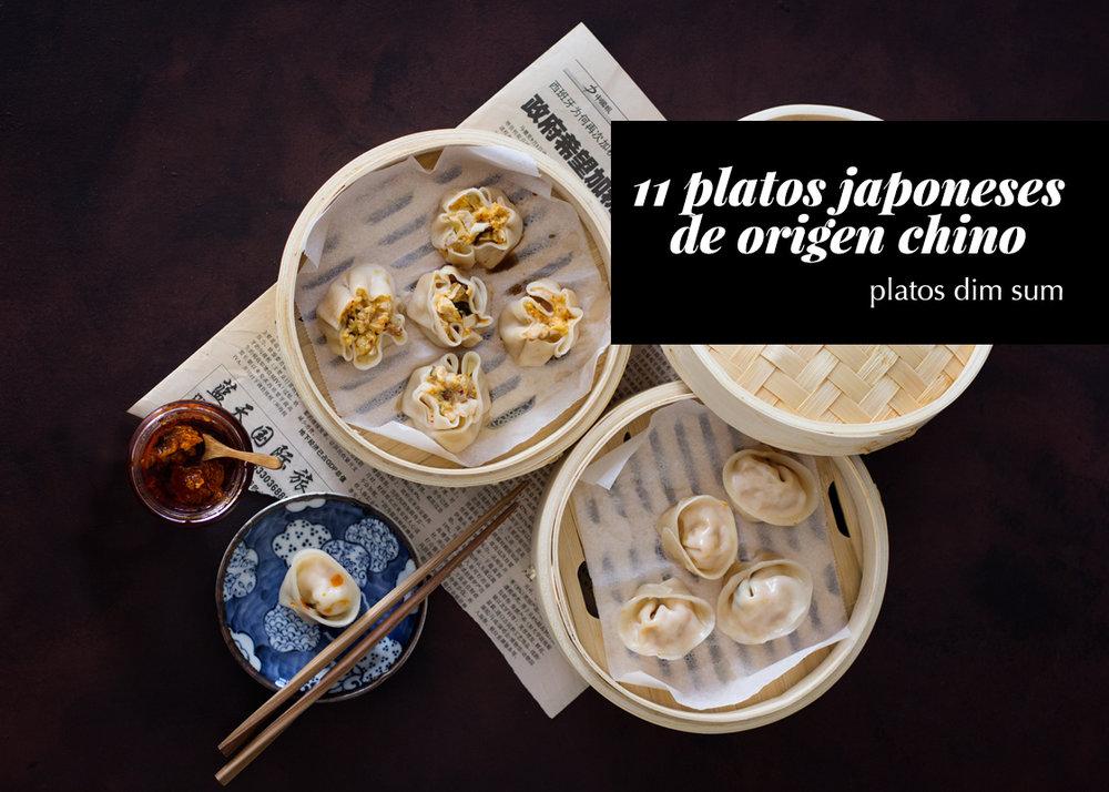 platos japoneses de origen chino