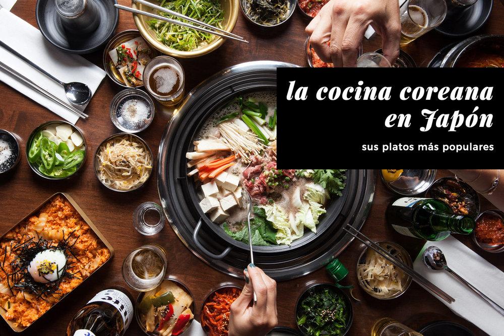 la cocina coreana en Japón