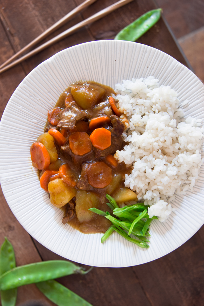 receta  arroz con curry