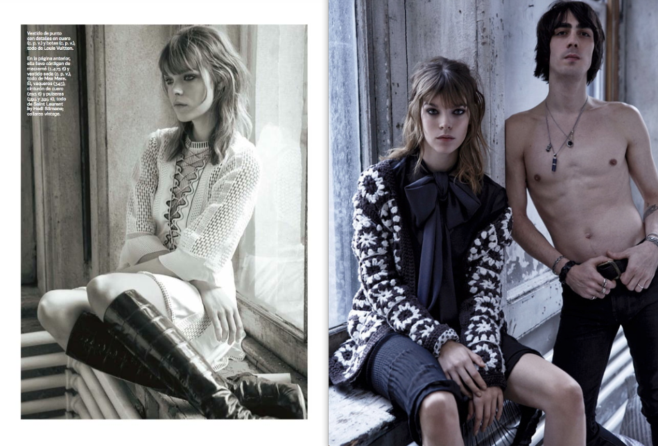 Vinny Michaud & Meghan Collison S Moda Magazine Model Vincent Michaud