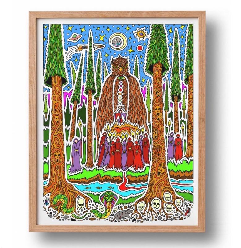 Copy of BOHEMIAN GROVE / PRINT