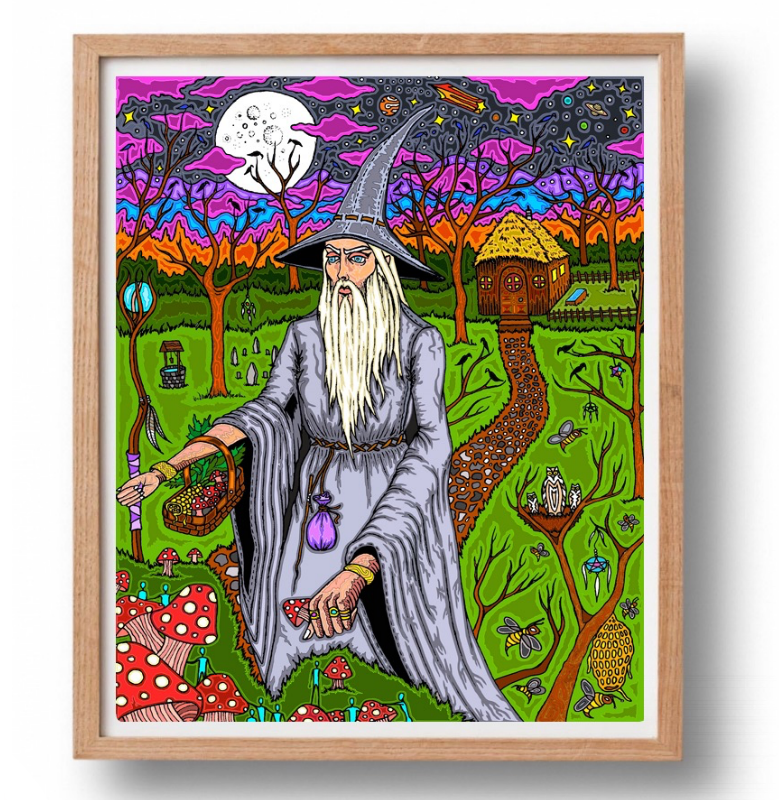Copy of THE WIZARD / PRINT