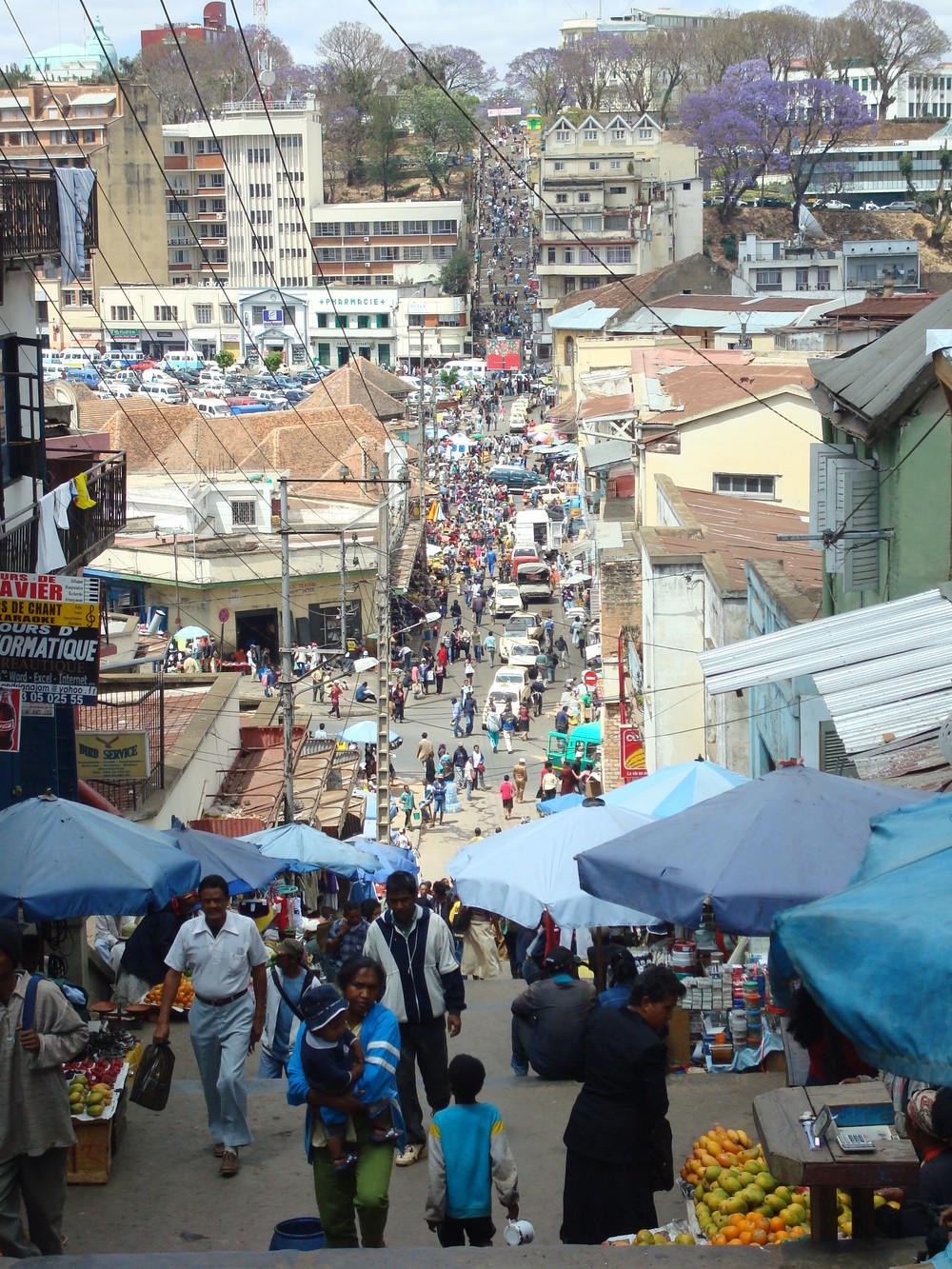 Antananarivo city street