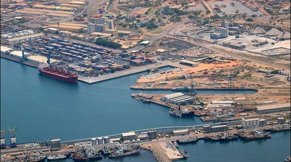 TEMA Port, Ghana. Image courtesy of  Portside.ch