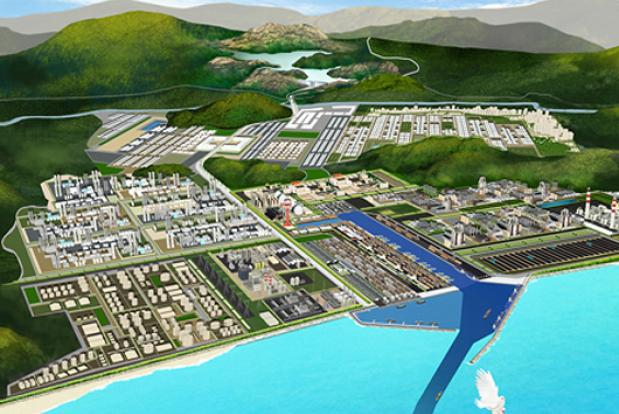 Proposed Dawei Port and SEZ, Myanmar