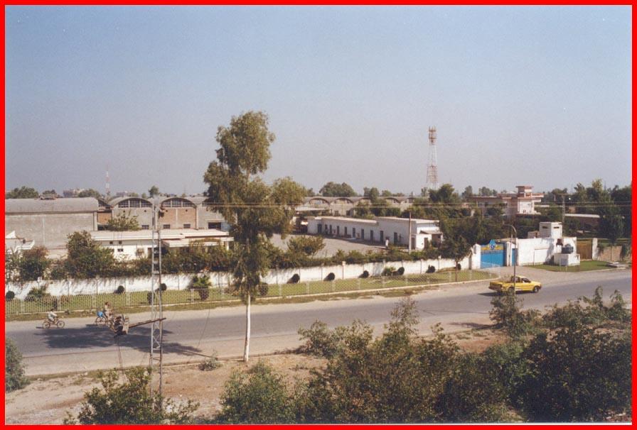 Gadoon Aamazai Industrial Estate, Pakistan. Image by  Sarhad Development Authority .