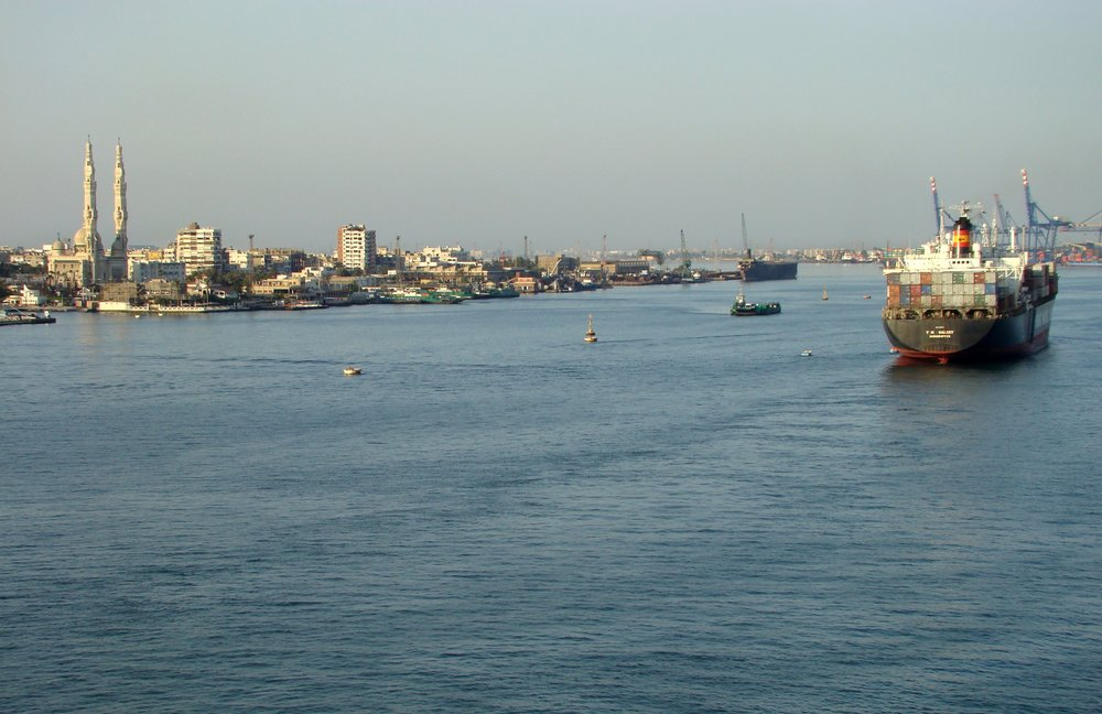 Port Said, Suez Canal, Egypt