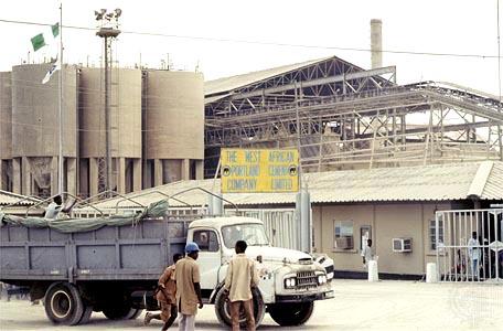 Nigerian  manufacturing plant .