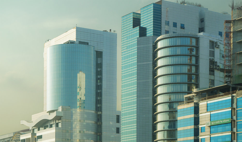 Skyscrapers in Dhaka, Bangladesh