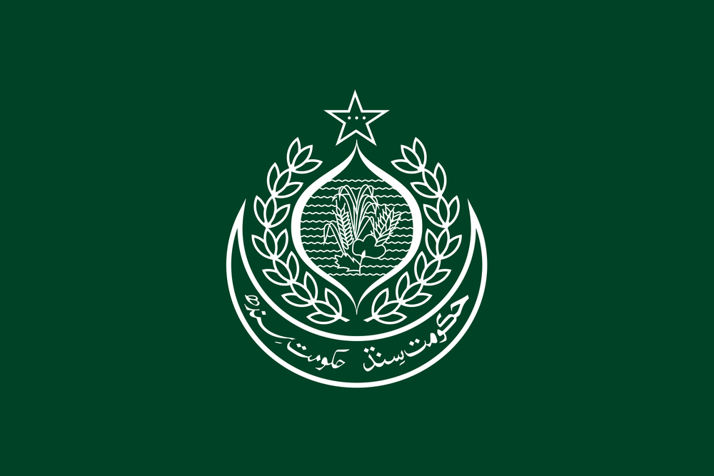 Flag of Sindh, Pakistan