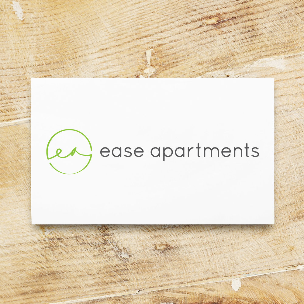 Ease Apartments Logo Design