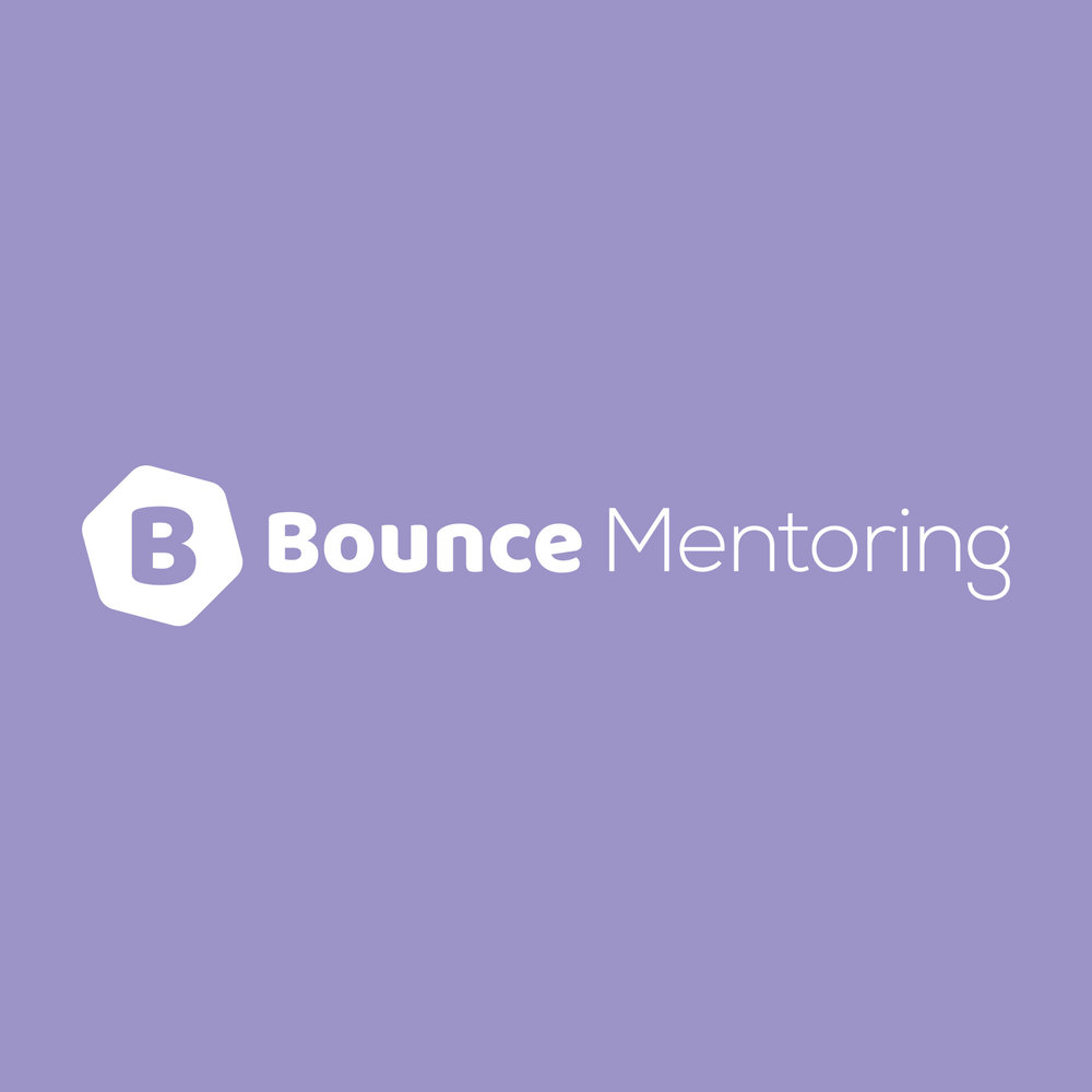 Bounce Mentoring Visual Brand