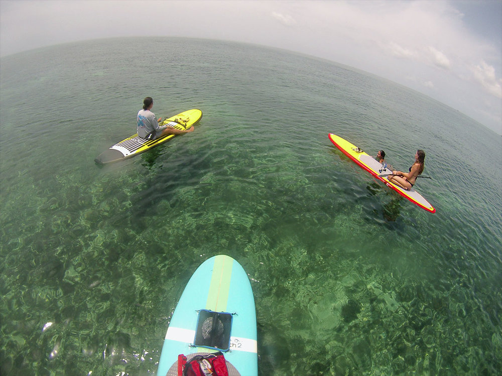 Paddling In The Keys -   Bahia Honda State Park