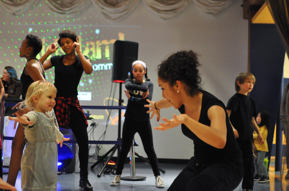 Hip Hop Crew leads Kids Jam at the Boston Children's Museum