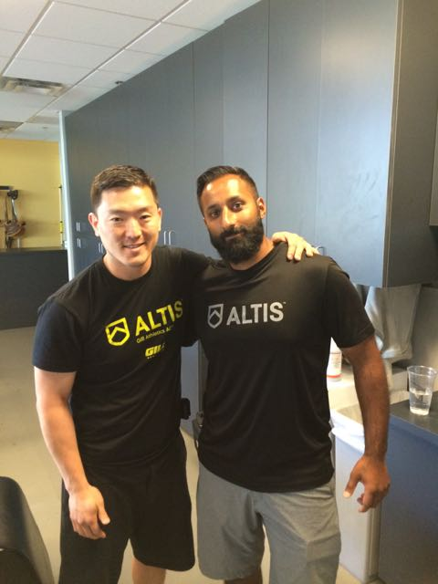 Dr. Jas Randhawa - Former OHFAST Performance TherapistCurrently the Lead Performance Therapist @ ALTIS