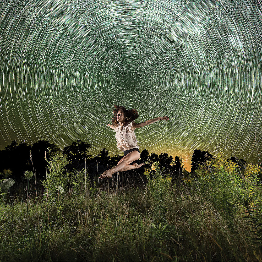 Star Trail Dancer