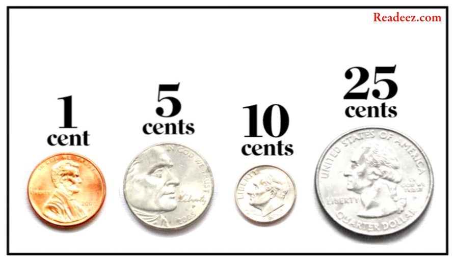"Penny, nickel, dime and quarter: four of the stars from ""The Value Of A Dollar"""