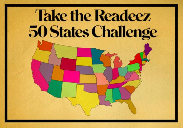 Readeez 50 States Challenge