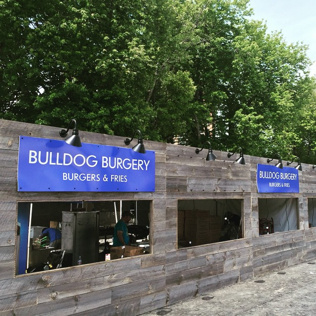 Hey, #ForestHillsStadium!  We're happy to be in our home boro serving you the best burgers and fries anywhere! Enjoy the concert! #EdSheeran #BestBurger #BestBoro