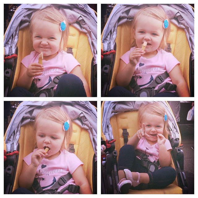 Babies love #TheSauce on our fries! We heard this cutie pie couldn't get enough of it! #LICFlea @the_whimsical_life
