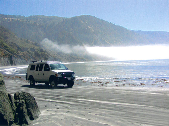 We're planning on hitting the California coast, as well.