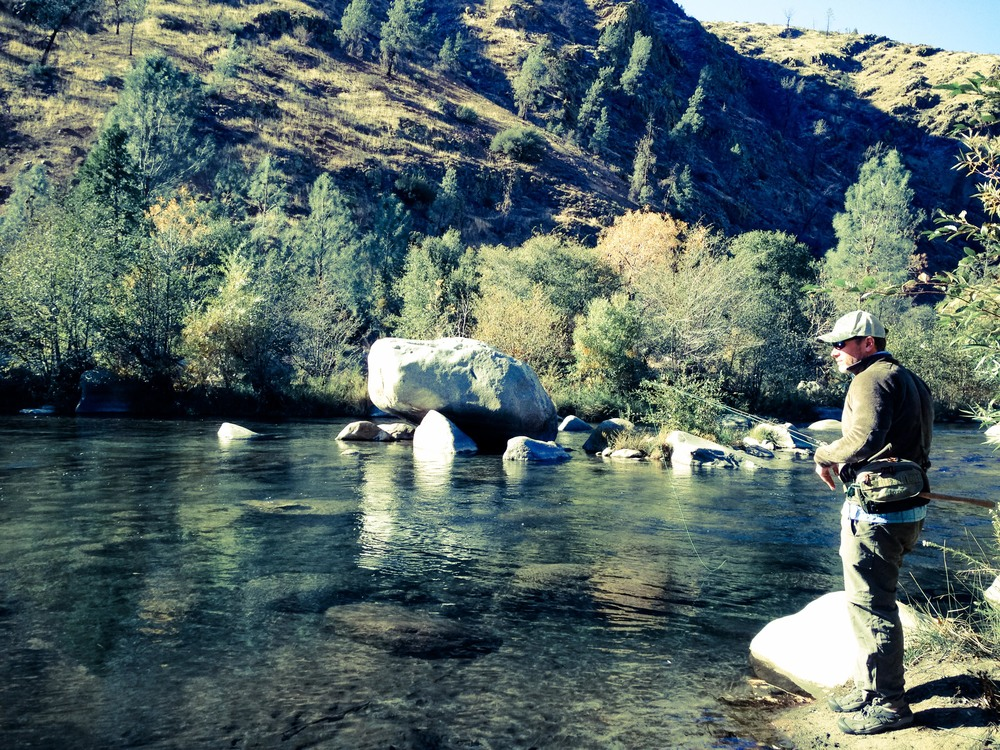 Fly Fishing the Kern River.
