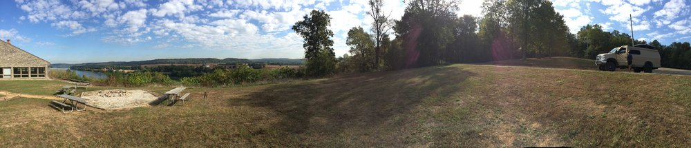 Panoramic View of the Ohio River