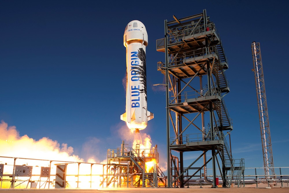 blue Origin Website