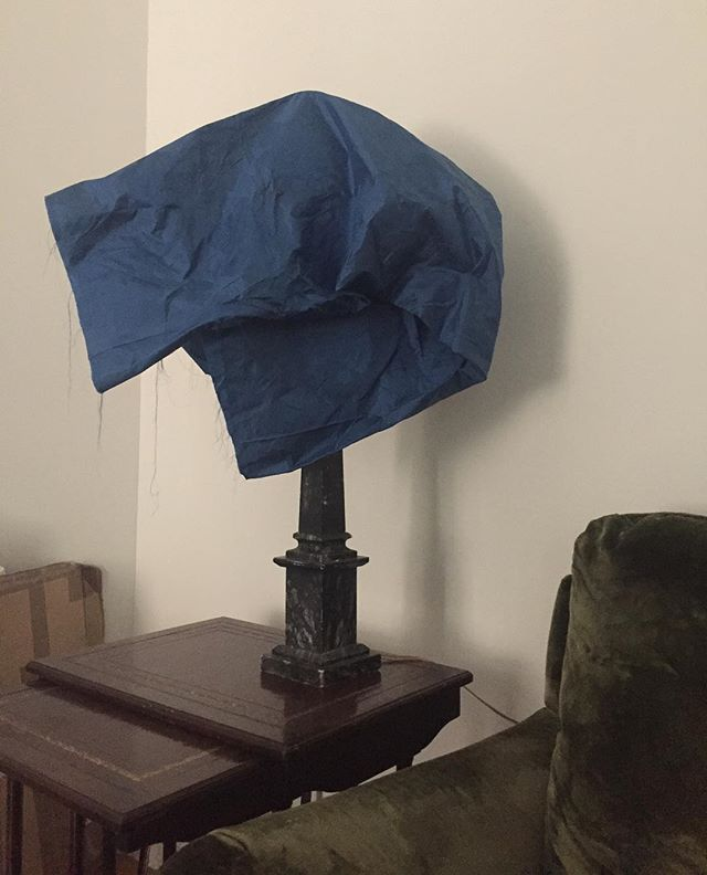 My conceptual lampshade