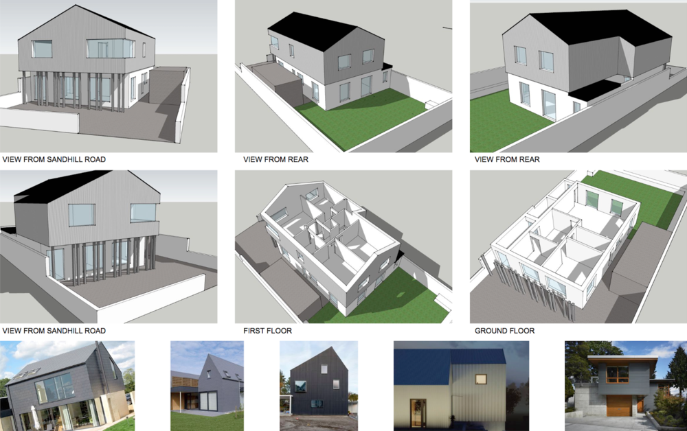 House Extension, Ballybunion (feasibility study)