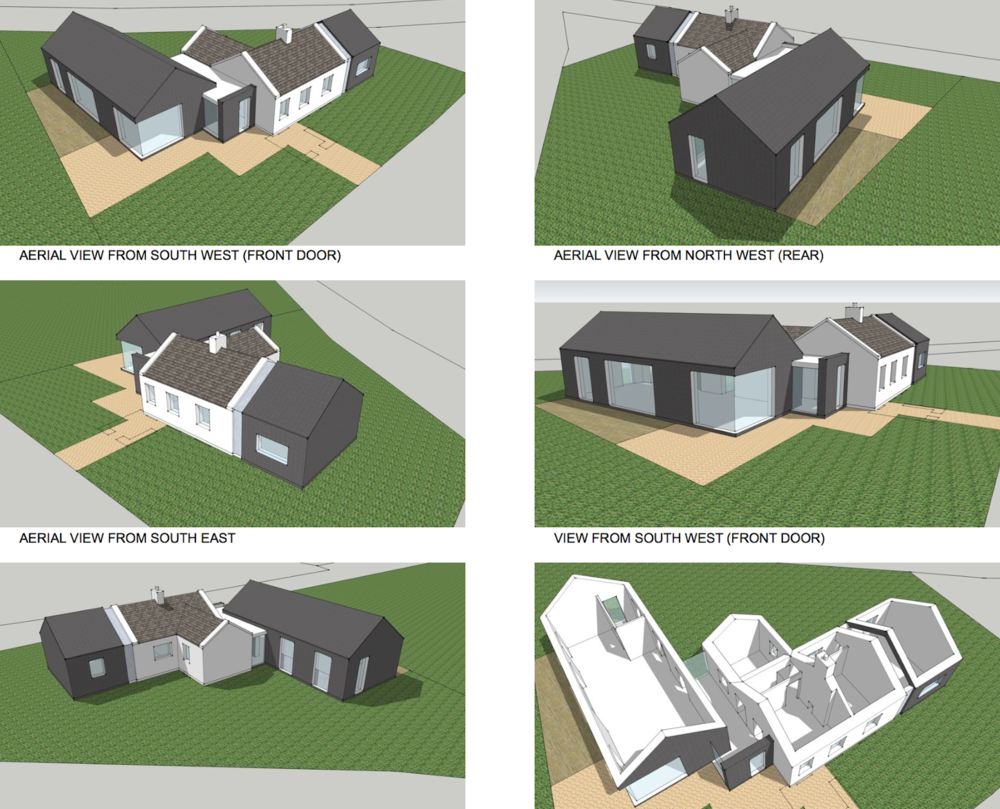 House Extension Ballyheigue (feasibility study)